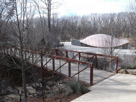 Crystal Bridges Museum of American Art and that new Museum smell